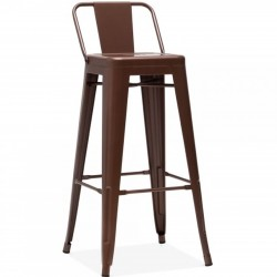 Tolix Style Metal Bar Stool...