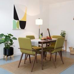 Viborg Wooden Upholstered Dining Chair - Mood Shot