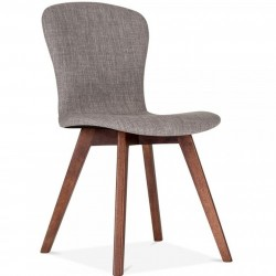 Sydney Fabric Upholstered Dining Chair -  Cool Grey
