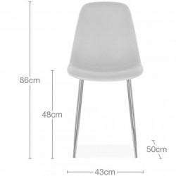 Cramer Velvet Upholstered Dining Chair Dimensions