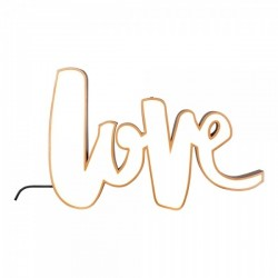 LED Copper Signs Light Box-Love