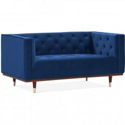 Sedona Velvet 2 Seater Sofa - Royal Blue