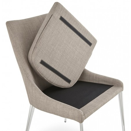 Tela Dining Chair Removable Cushion