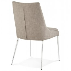 Tela Dining Chair Back Angle