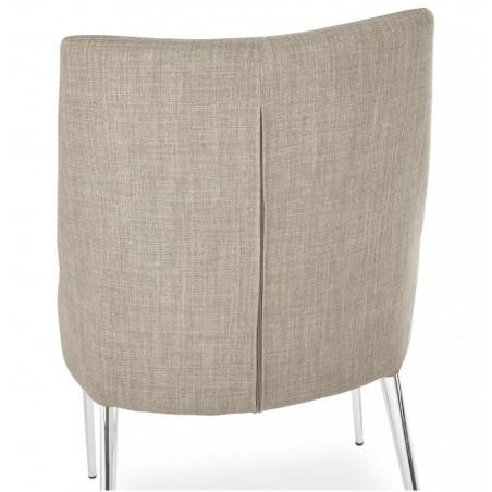 Tela Dining Chair Back Angle