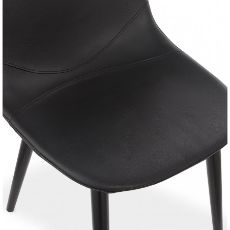 Nero Dining Chair Seat Angle