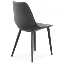 Nero Dining Chair Back Angle