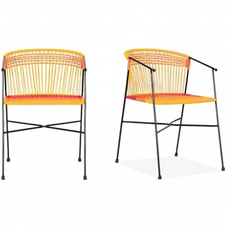 Costa  Garden Dining Chairs - Multicoloured