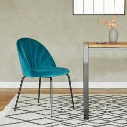 Stellia Velvet Dining Chair - Mood Shot1