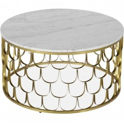 Juara Round Arch Pattern Coffee Table