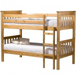 Harper Bunk Bed pine front view