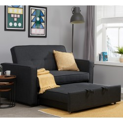 Otter Medium Sofa Bed as chaise