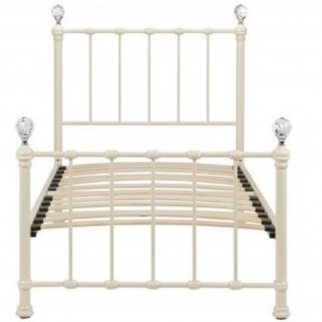 Jess Vintage Style Single Bed Front View