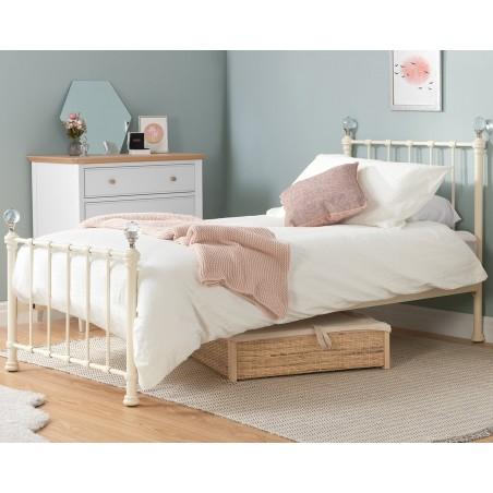 Jess Vintage Style Single Bed Mood Shot
