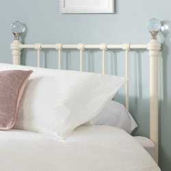 Jess Vintage Style Single Bed Headboard Detail