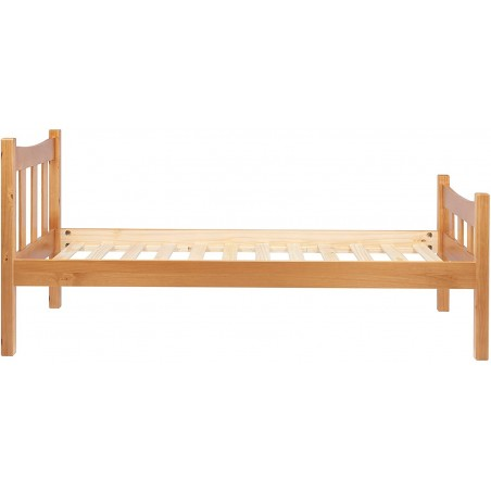 Miami Wooden Bed Frame- Single Side View