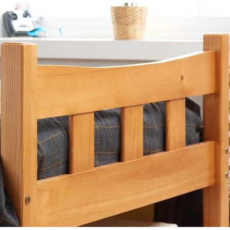 Miami Wooden Bed Frame- Single Footboard Detail