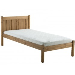 Palmetto Wooden Bed Frame Single Pine
