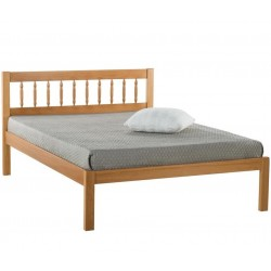 Pavuna Wooden Bed Frame - Double
