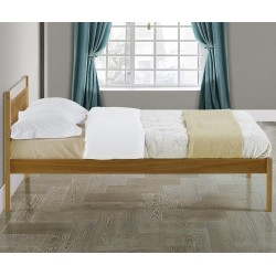 Pavuna Wooden Bed Frame - Double Side View