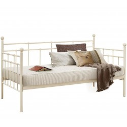 Leon Classic Metal Daybed - Cream