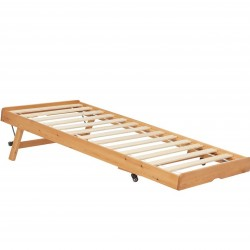 Buxton Bed with Trundle - Pine Trundle part extended