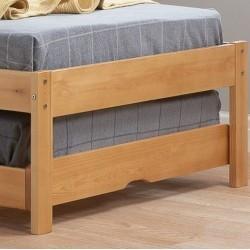 Buxton Bed with Trundle - Pine Footboard Detail