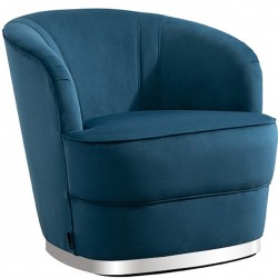 Cleo Accent Chair - Blue