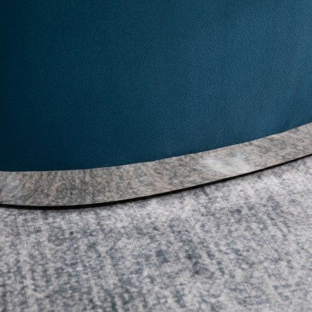 Cleo Accent Chair - Blue Trim Detail