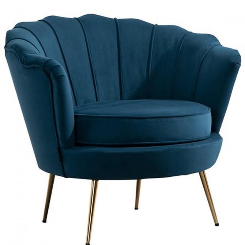 Ariel Accent Armchair - Blue
