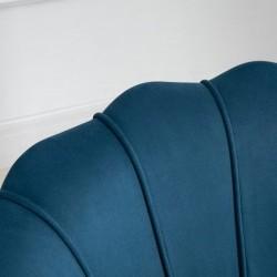 Ariel Accent Armchair - Blue Pattern Detail