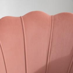 Ariel Two Seater Sofa - Coral Back Detail