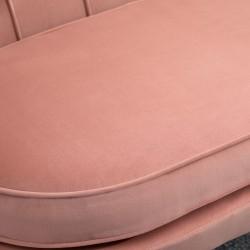 Ariel Two Seater Sofa - Coral Seat Detail