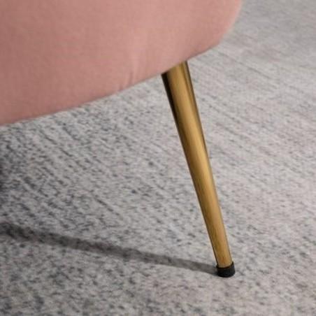 Ariel Two Seater Sofa - Coral Leg Detail