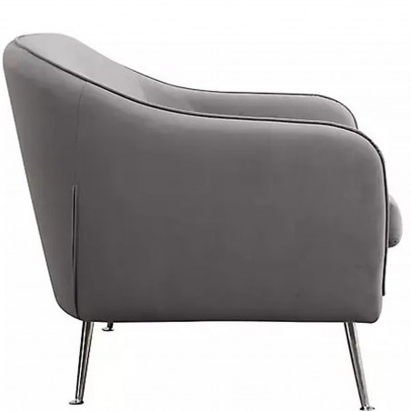 Novello Two Seater Sofa Side View
