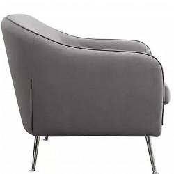 Novello Three Seater Sofa Side View