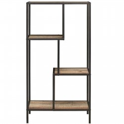 Camden Urban Medium Shelving Unit Front View