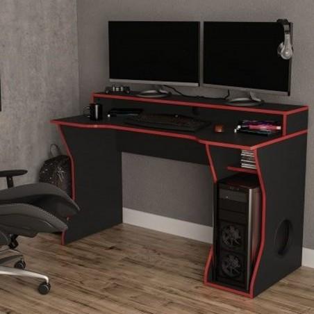 Enzo Gaming Computer Desk Mood Shot