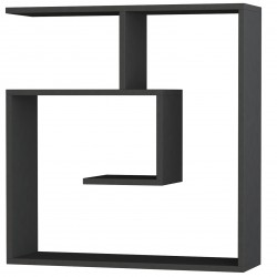 Rizo Floating Wall Shelf Anthracite