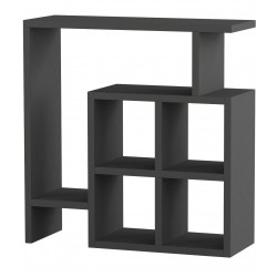 Lune End Table Anthracite