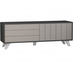 Casar Tv Stand Light Moca and Anthracite
