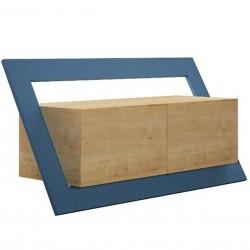 Grabar Tv Unit Oak and Turquoise