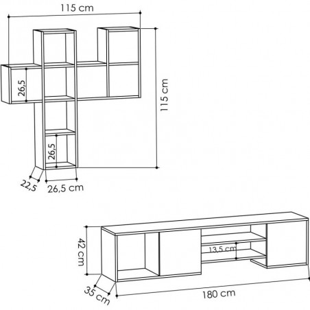 Importar Tv Stand Dimensions