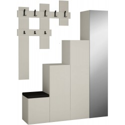 Arriba Hall Stand White