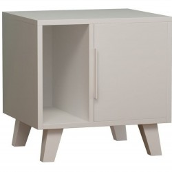 Frontera Nightstand White