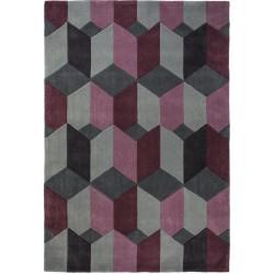 Kalmar Abstract Rug -Purple