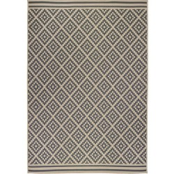 Florence Alfresco Moretti Rug - Beige & Anthracite