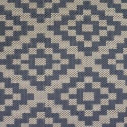 Florence Alfresco Moretti Rug - Beige & Anthracite Pattern Detail