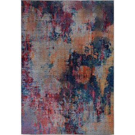 Surge Multi Coloured Abstract Rug