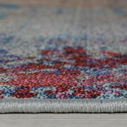 Surge Multi Coloured Abstract Rug Pile thickness